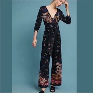 Anthropologie Feather and Bone Nara Jumpsuit